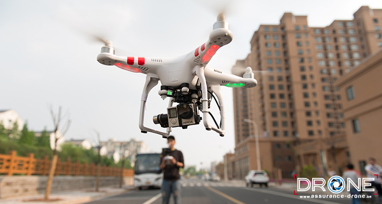 Législation drone Belgique